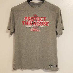 Under Armour Men's Baseball T-Shirt XL Regular